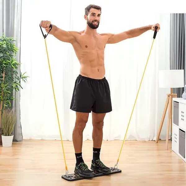 Megadealsweek - Stay fit out home system with resistance bands for her and him