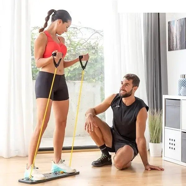 Megadealsweek - Stay fit out home system with resistance bands for him and her