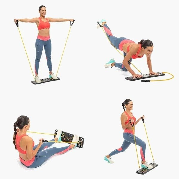 Stay fit out home system with resistance bands Megadealsweek