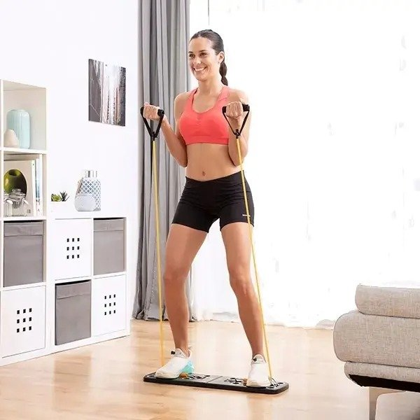Stay fit out home system with resistance bands for him and her - megadealsweek
