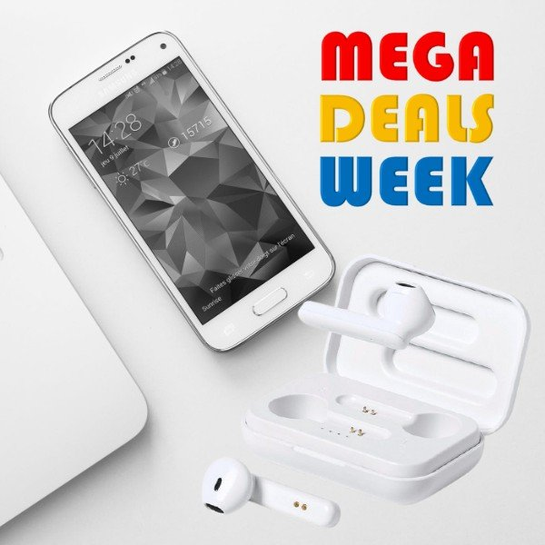 Anti-bacterial bluetooth earphones - wireless earbuds for your mobile phone (3)