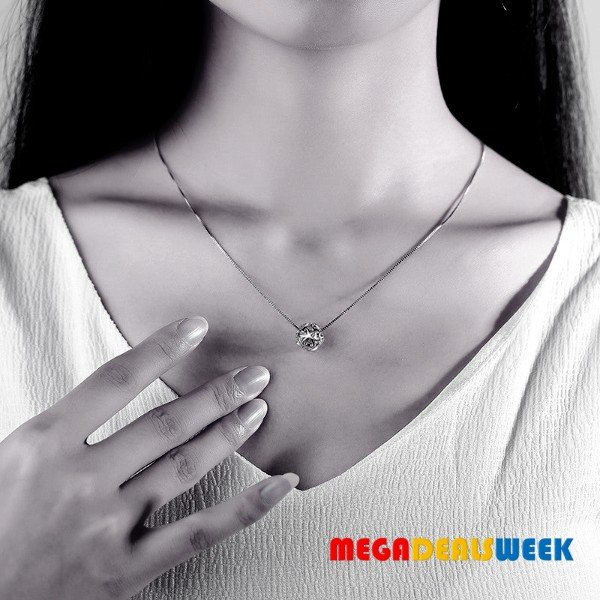 Megadealsweek - Silver Necklace with Silver ball - Yem deal